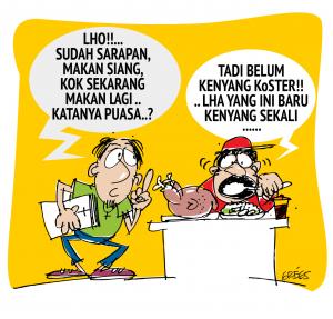Gambar Puasa Lucu Cerita Ramadhan Terbaru Karikatur