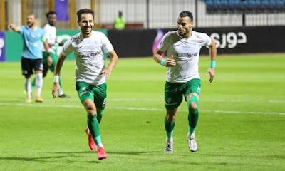 ملخص اهداف مباراة المصري وغزل المحلة (2-1) الدوري المصري