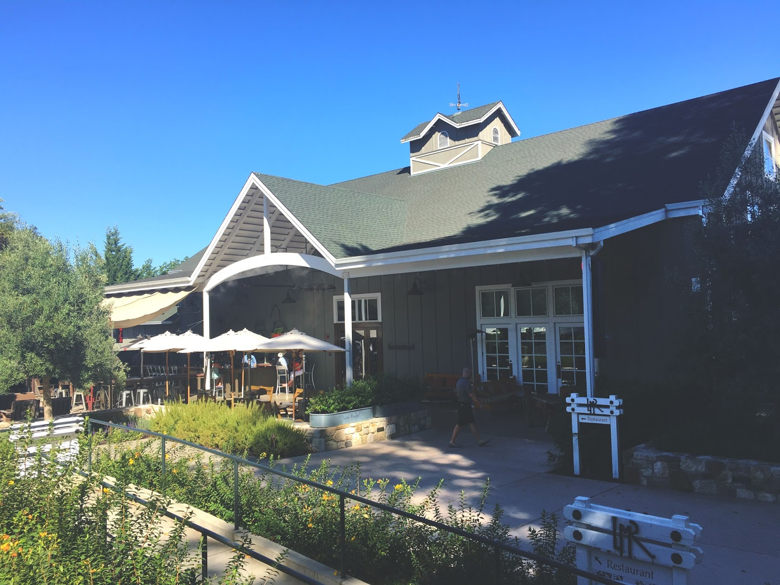 Farmstead Restaurant at Long Meadow Ranch in Napa, California