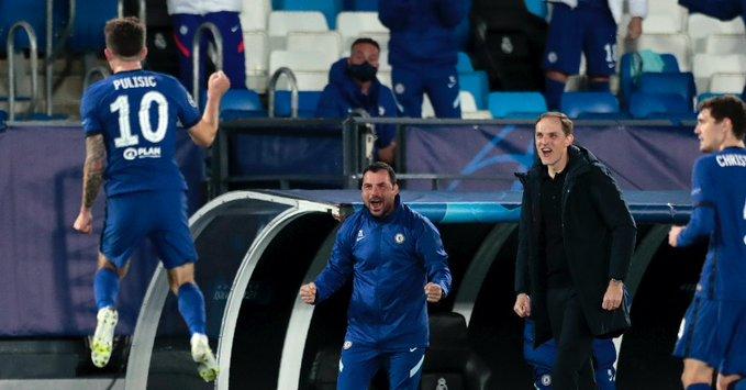 UEFA Champions League Real Madrid vs Chelsea Highlight