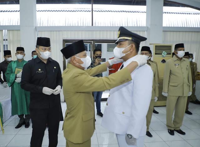 Bupati Asahan Melantik Pejabat Fungsional Ahli Utama dan Pejabat Administrator