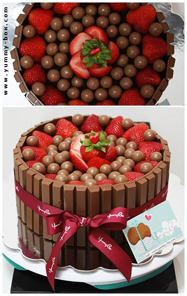 kit kat cake -13 incredibly delicious cakes - www.howsheknowsthat.com - recipes, cakes, deserts, chocolate, oreo, kit kat, nutella