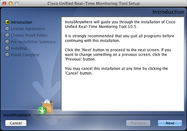 Unified Communications Guerrilla: Installing Cisco RTMT 10 5
