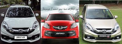 Daftar Mobil Merk Honda Terbaik