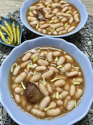 ALUBIAS con VERDURAS ¡Receta SANA y deliciosa! CROCKPOT, olla express y cazuela