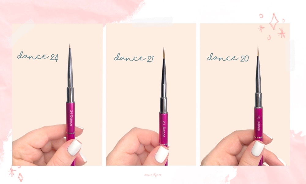 Whats Up Nails Dance Brushes