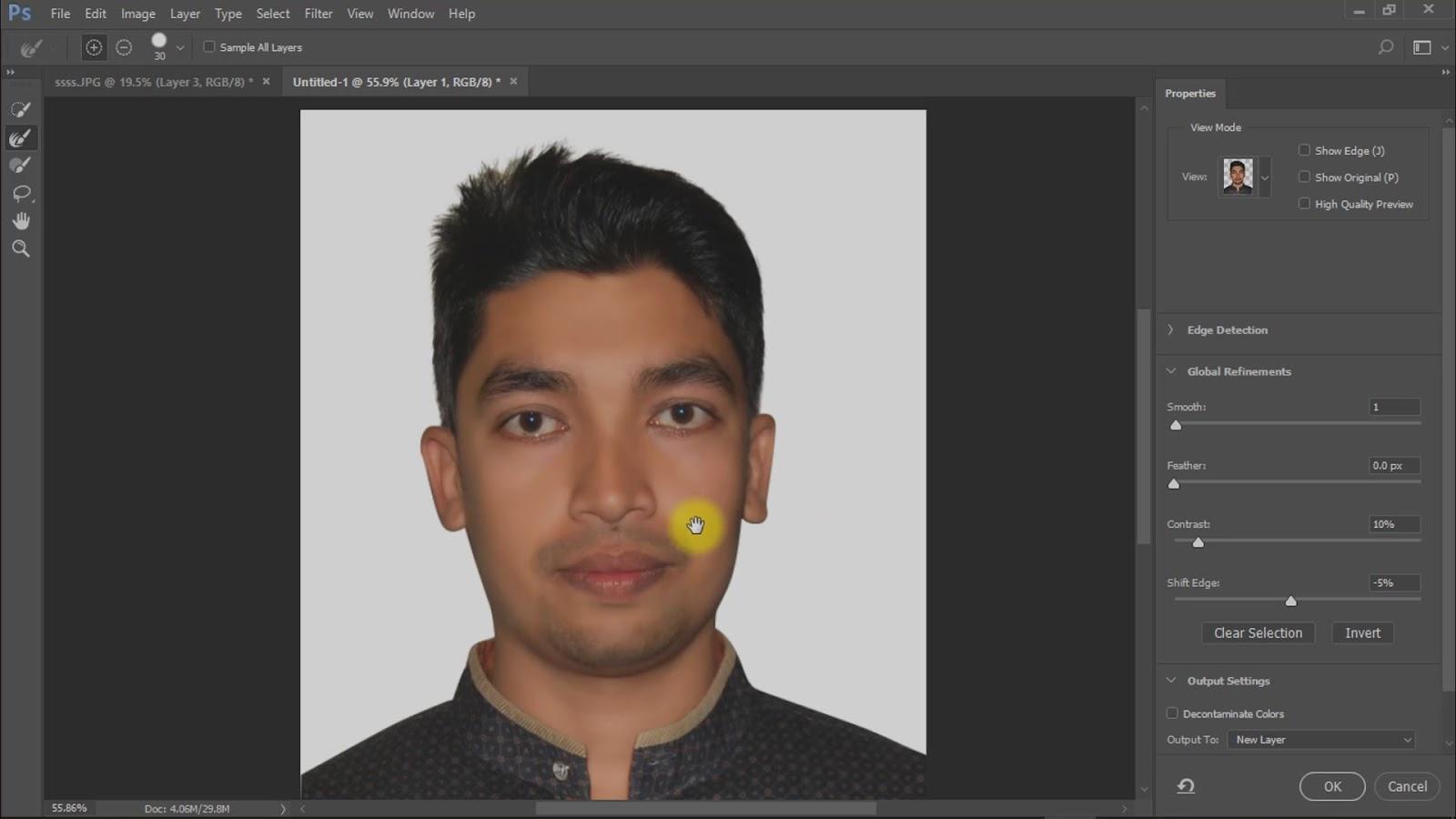 best way to create passport size photo screenshot 3