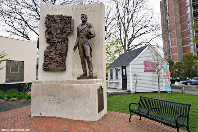 Monumento a Samuel Wilson en Arlington, Massachusetts