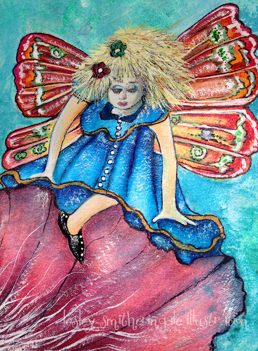Flower Faeries Watercolour | Lesley Smitheringale Illustration