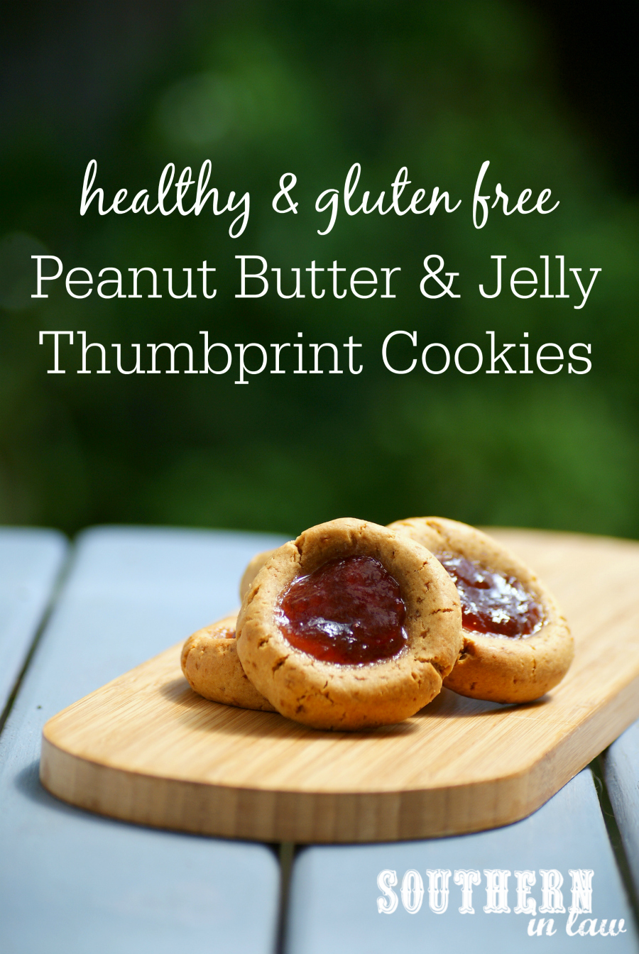 Peanut Butter and Jelly Thumbprint Cookies Recipe - PB&J Thumbprint ...