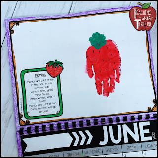 Strawberry Handprint