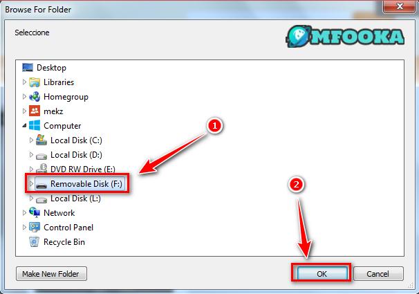 خطوات اظهار الملفات المخفية بسبب الفيروس عن طريق USB Show