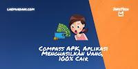 Compass APK, Aplikasi Menghasilkan Uang, 100% Cair