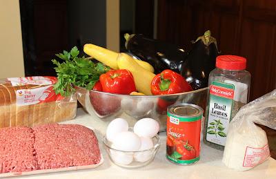 Italian Stuffed Pepper Ingredients
