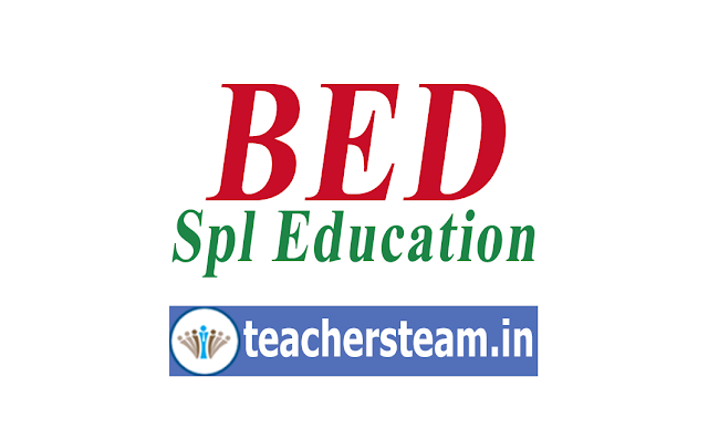 BED Special Education Admission Entrance Test