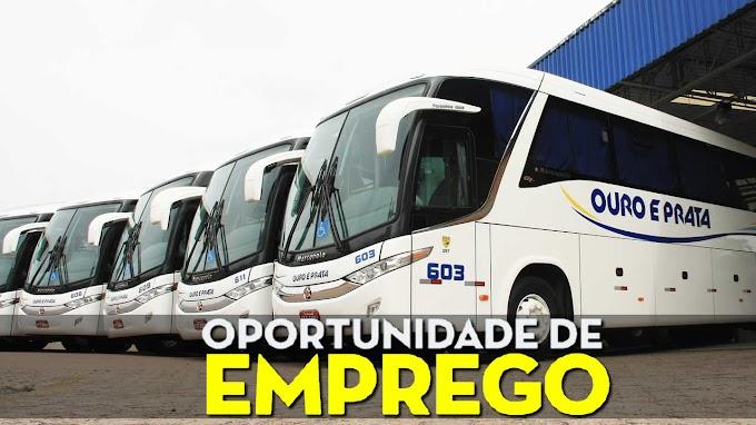 Viação Ouro e Prata abre vagas para motorista de ônibus