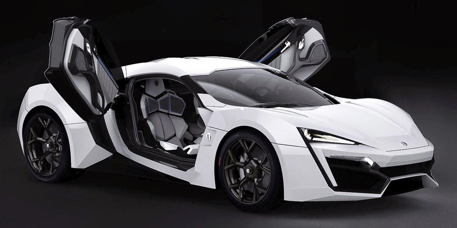 Lykan Hypersport Super Car Template Testing