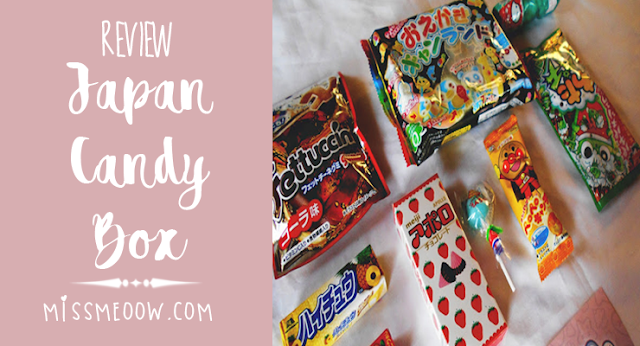 ♡Review + Giveaway: Japan Candy Box