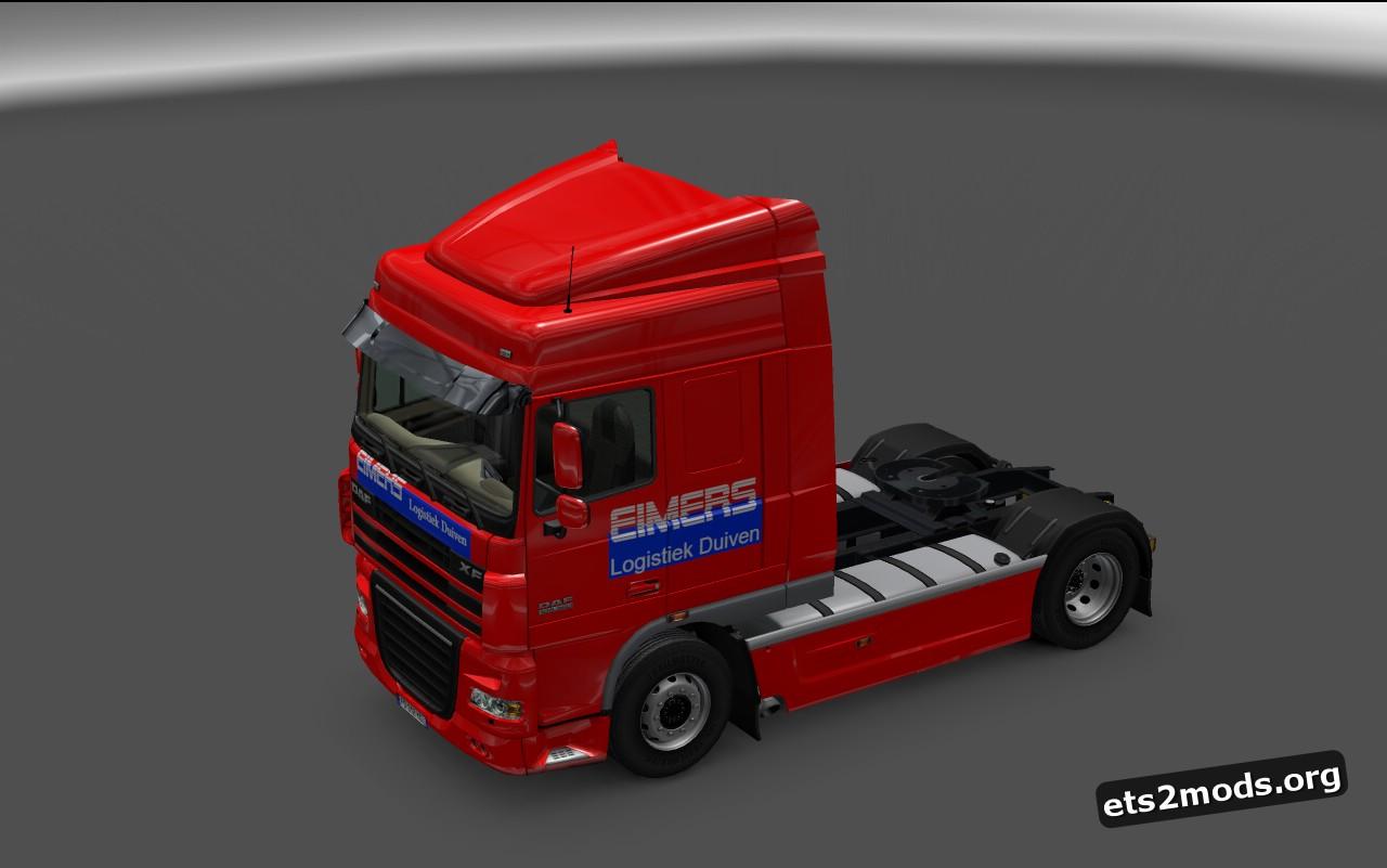DAF XF Eimers Logistic B. Skin V 1.0.2