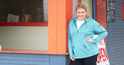 Plus Size Fleece Jacket Pullover
