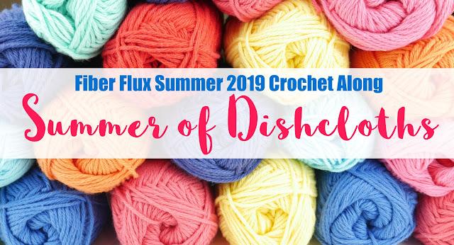 Fiber Flux: Super Stitchy Dishcloth, Free Crochet Pattern +