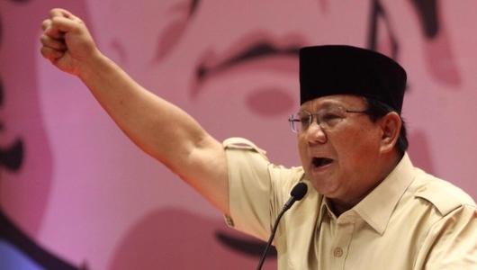 Prabowo: Orang Kurang Waras Suka Manipulasi Data