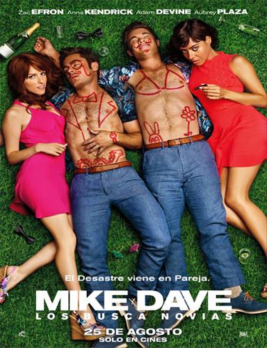 Mike Y Dave: Los Busca Novias (2016) [Dvdrip Latino] [Comedia]