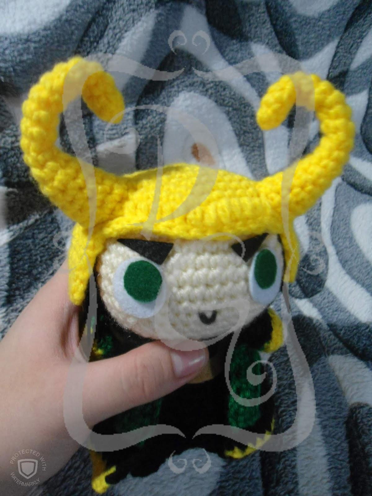 How to make Loki, the god of mischief   Crochet amigurumi, Crochet ...   1600x1200