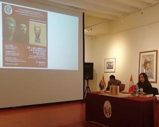 Presentación de libro sobre Marina Núñez del Prado y su legado artístico en el Perú en la ciudad del Cusco, a cargo de la Dra. Alba Choque Porras