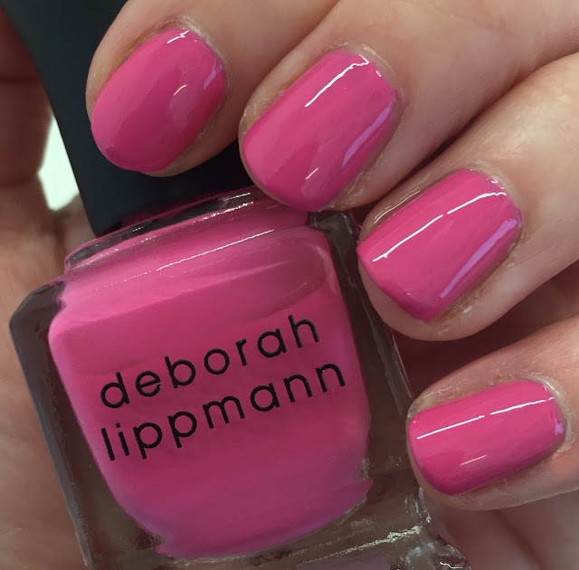 Deborah Lippmann, Deborah Lippmann Whip It, Deborah Lippmann Summer 2014 80s Rewind Collection, nails, nail polish, nail lacquer, nail varnish, manicure, On Wednesdays We Wear Pink, Mean Girls, quote