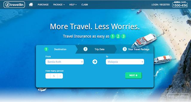 Screenshot 1 - Ingin Perjalanan Liburan Kamu Aman dan Nyaman? Yuk Asuransikan di Travellin.co.id!