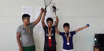 Raquetbolistas montereños. (Foto: Hammel Álvarez)
