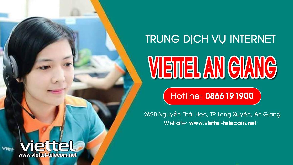 Viettel An Giang - Tổng đài lắp mạng Internet và Truyền hình ViettelTV