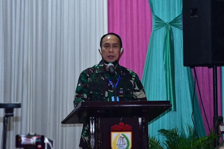 Pangdam Hasanuddin, Imbau Warga Jaga Imunitas