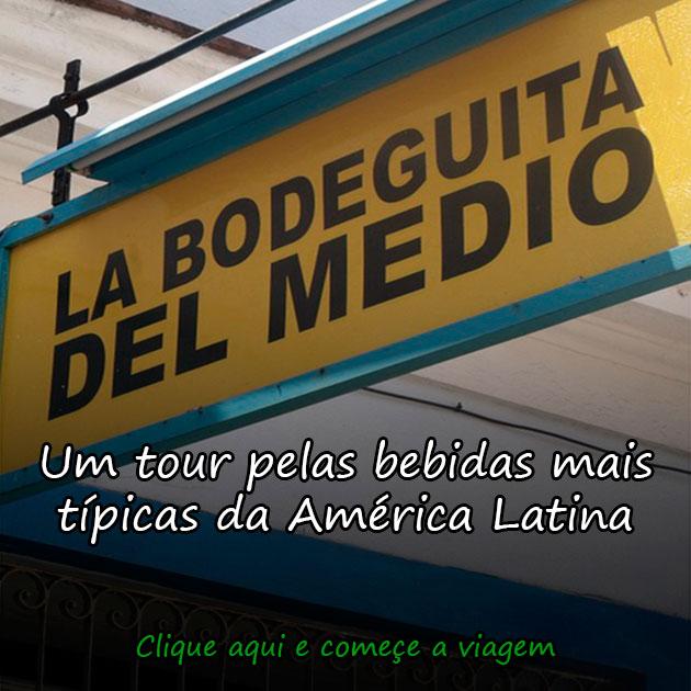UM TOUR PELAS BEBIDAS MAIS TÍPICAS DA AMÉRICA LATINA