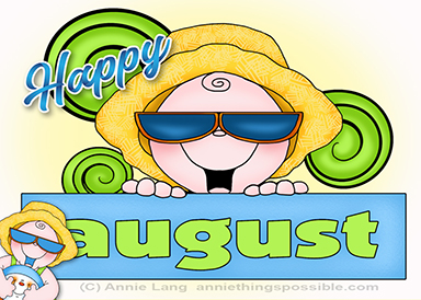 August has arrived at Anie Things Possible so check out the news today!