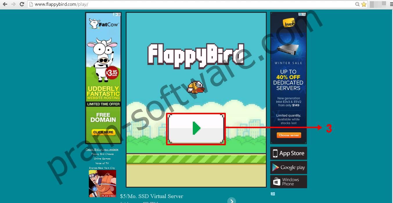 Memainkan Flappy Bird