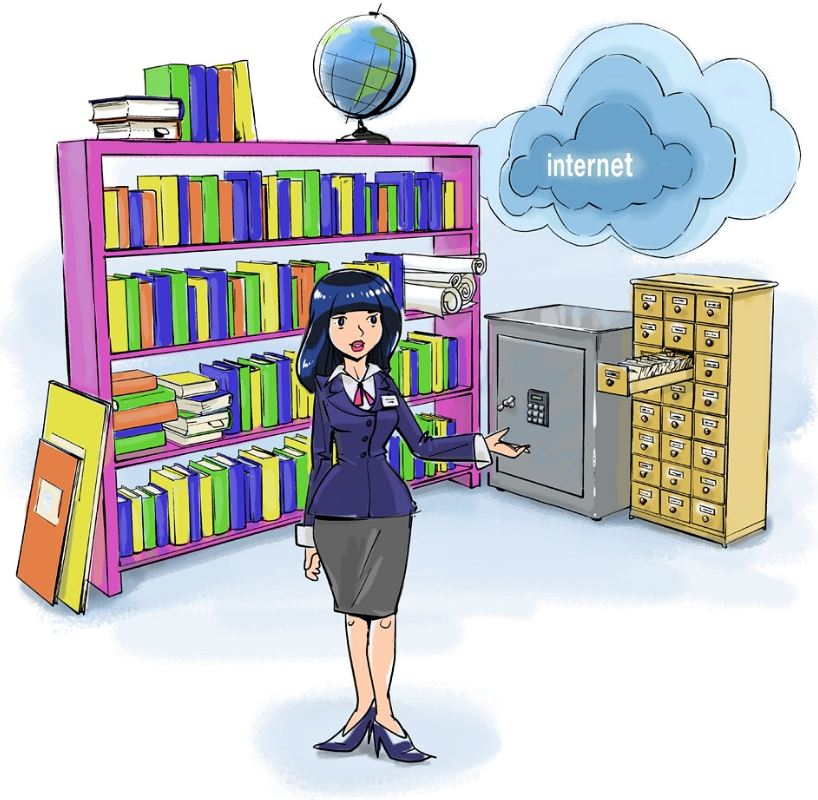 его картинки про библиотеку и библиотекарей такая особая