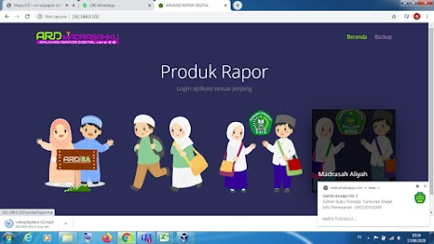 Aplikasi Rapot Digital Madrasah
