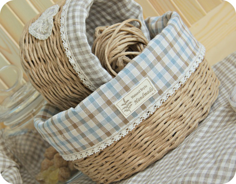 Weaving a Provence Paper Twine  Basket. DIY Tutorial.