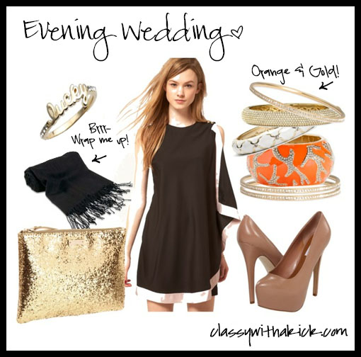 How To Accessorize A Black Dress For Wedding Ideas
