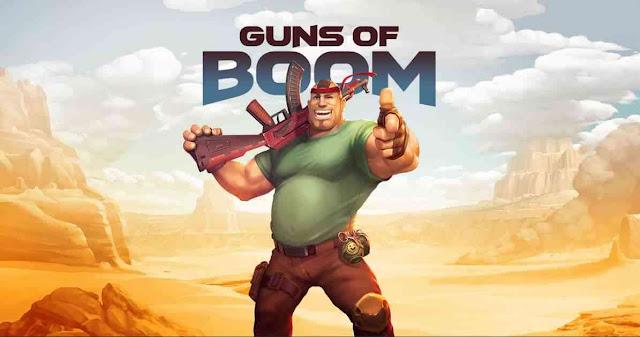تحميل لعبة اطلاق النار Guns of Boom اخر اصدار للاندرويد والايفون