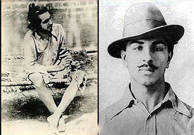 Bhagat Singh in prison