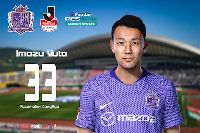 PES 2021 Faces Imazu Yuta by CongNgo
