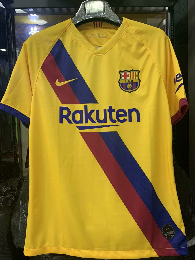 quality design e61fe e78ec Barcelona 2019-20 Away Shirt Leaked - The Football Shirt