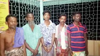 রাজবাড়ী গোয়ালন্দে মাদকসহ ৫ জন গ্রেফতার