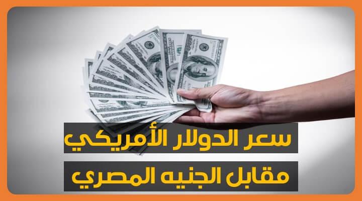 سعر الدولار اليوم مقابل الجنيه المصري السبت 22-08-2020