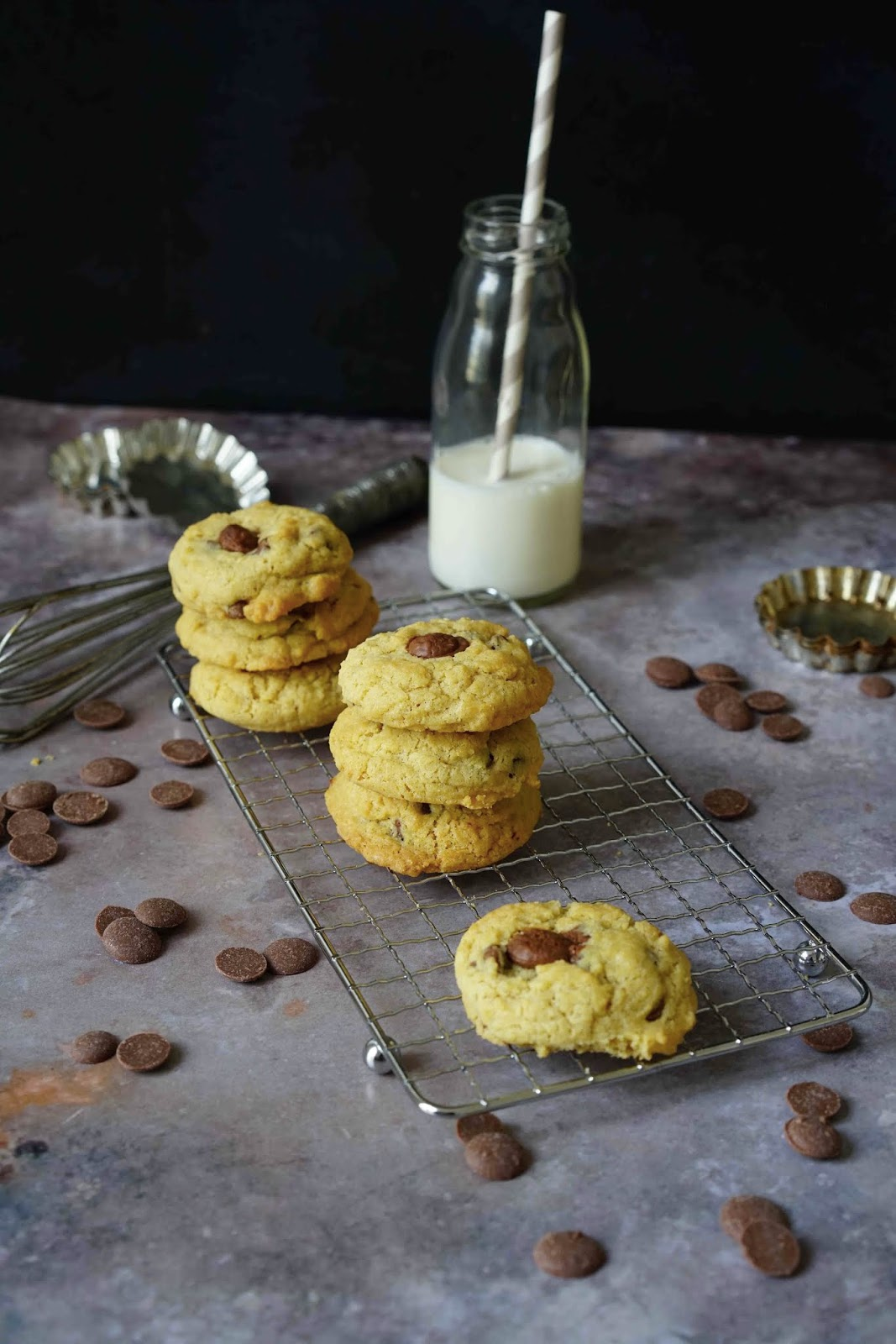cookies , moelleux , made in USA , chocolat au lait , beurre noisette