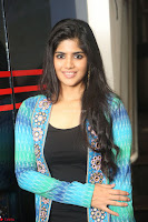 Megha Akash in a beautiful Anarkali dress with Long Jacket at LIE success meet ~  Exclusive Celebrities Galleries 018.JPG