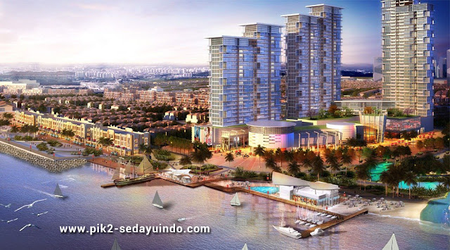 PIK 2 Sedayu Indo City Waterfront Jetty